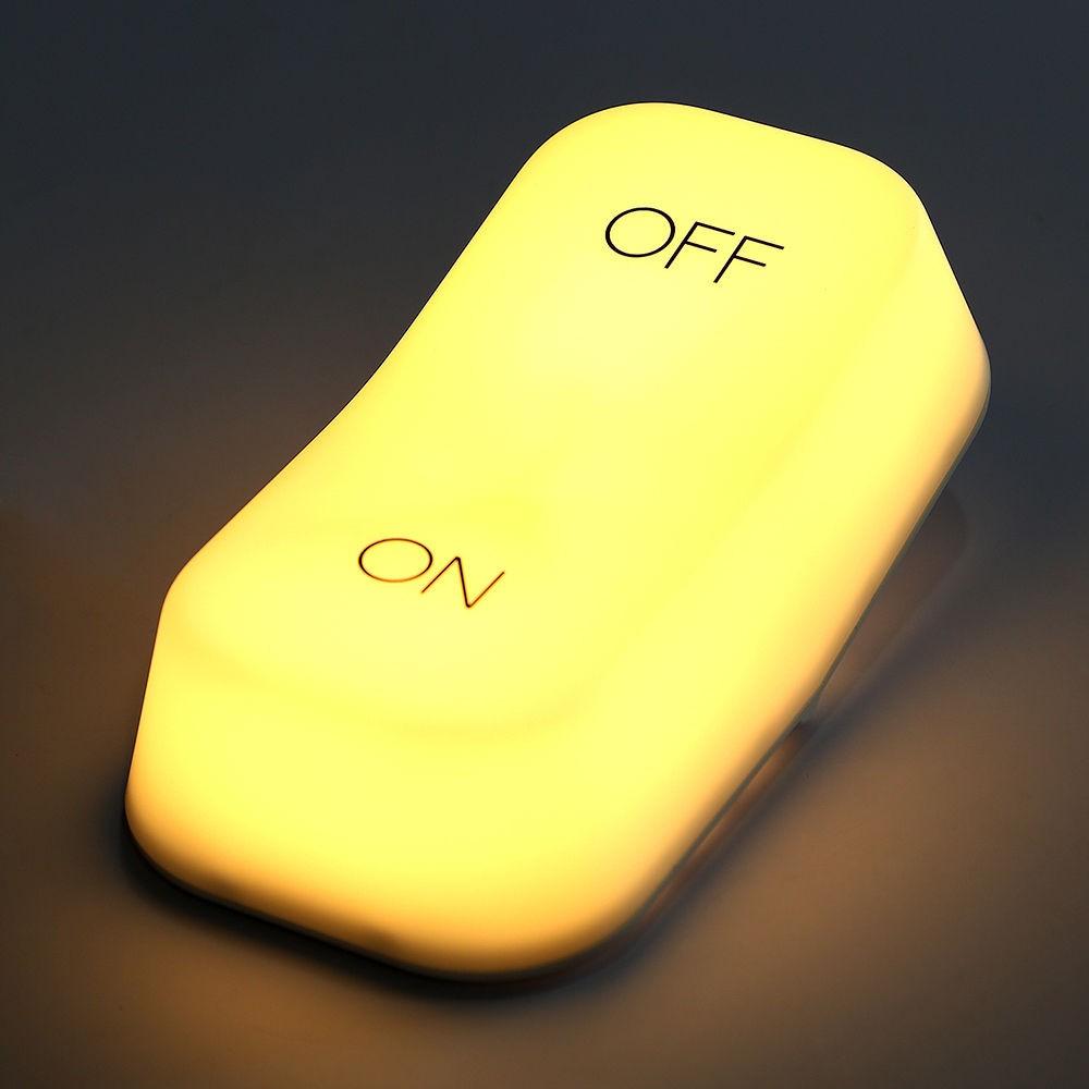 OnOff Switch Style Desk Lamp Gravity Sensor Keyboard Home Decorate Light Usb Table Night Lamp (6)