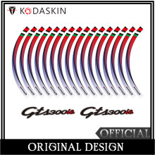 KODASKIN 2D Emblem Sticker Decal Wheel Rim for GTS 300ie Super Sport Vespa Touring