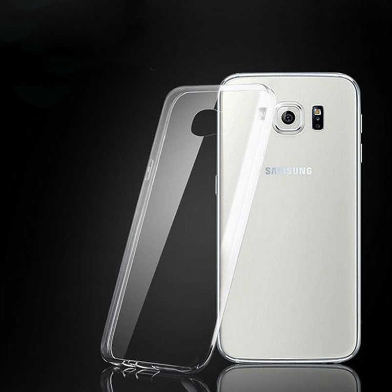 Transparent TPU Souple étui pour samsung Galaxy J1 Mini J2 Premier J3 J5 J7 2017 J7 Néo Métal A5 2016 S3 S4 S5 S6 S7 bord S8 Plus