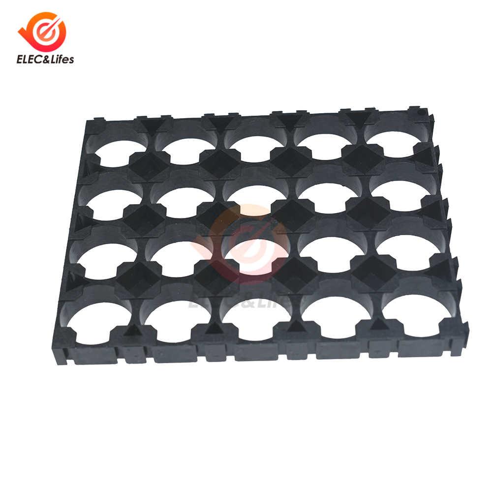 1 stuks Zwart Plastic 18650 Batterij Houder Beugel 4x5 Mobiele Spacer Uitstraalt Shell Pack Plastic Warmte Lithium Batterijen houder