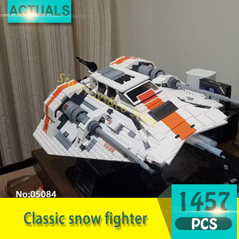 Lepin 05084 1457Pcs Classic snow fighter Model Building Blocks Set  Bricks Toys For Children Gift Star Series Wars 2015 high quality spaceship building blocks compatible with lego star war ship fighter scale model bricks toys christmas gift