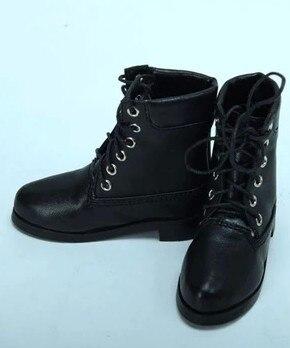 70 CM 1/3 erkek çocuk SD AOD KÖPEK BJD MSD Dollfie Sentetik Deri PU botları Ayakkabı siyah kahverengi ayakkabı YG343