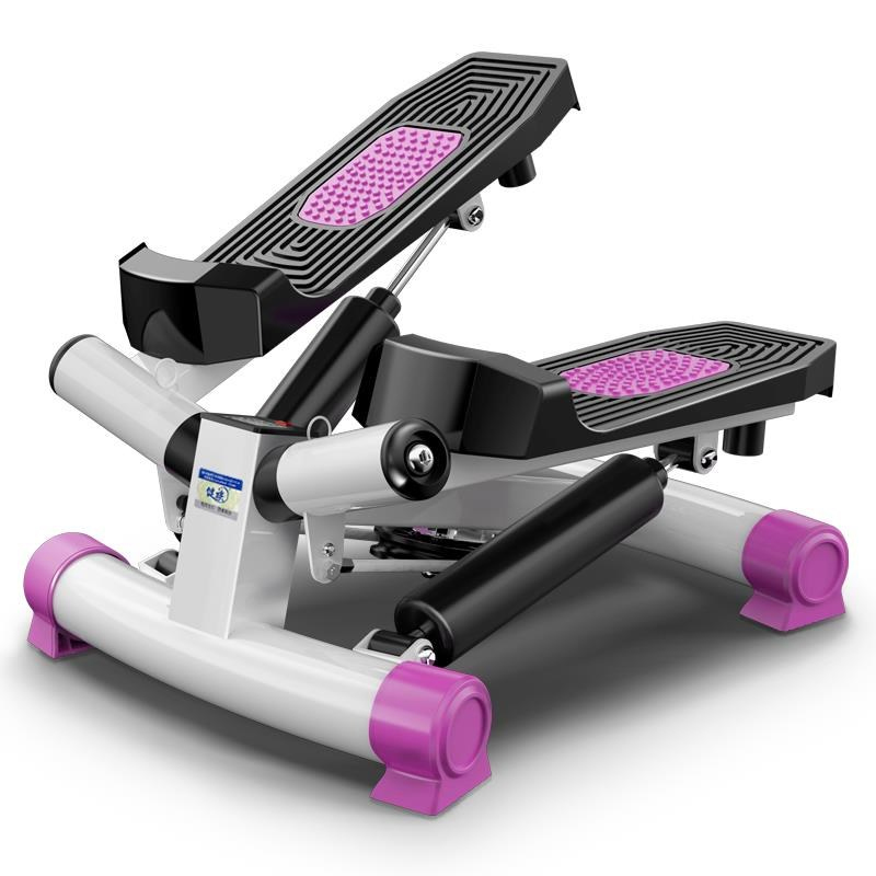 JZ-008 Foot Stepping Motion Machine Household Silent Stovepipe Weight Loss Machine LCD Monitor Fitness Equipment Stepper