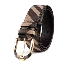 Luxury Unisex Genuine Leather Pin Buckle Belt