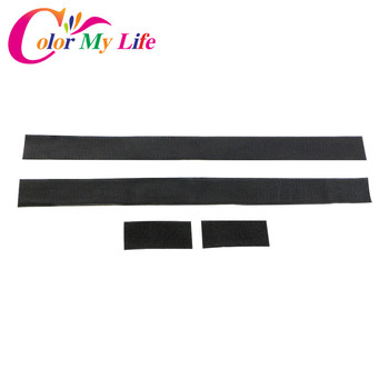Color My Life Car Trunk Storage Bag Magic Tapes Fire Extinguisher Bandage Fixed Stickers Straps for Ford Kia Peugeot For VW BMW image