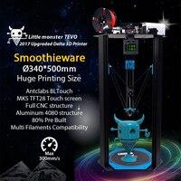 TEVO Delta TEVO Little Monster Delta 3D Printer DIY Kit Kossel Delta Smoothieware MKS TFT28 Bltouch