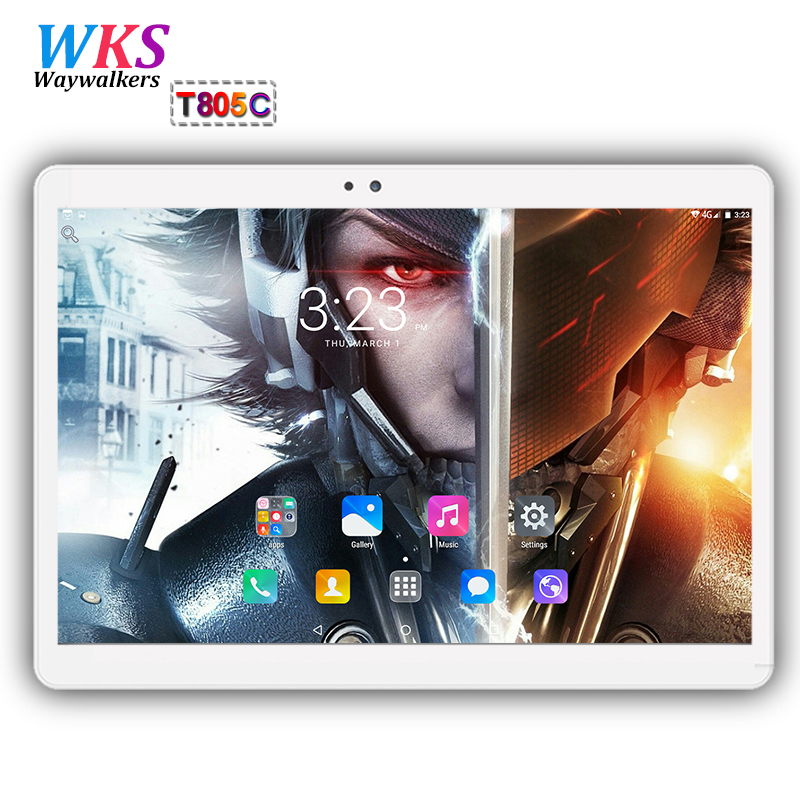 Original 10 inch Octa Core 3G/4G LTE tablet pc Android 7.0 RAM 4GB ROM 64GB Dual SIM Card WIFI Bluetooth GPS tablets pc 10 10.1 2018 hot new 10 inch android 7 0 tablet pc octa core 3g 4g lte 4gb ram 64gb rom 1280 800 ips dual sim cards gps 5 0mp tablets