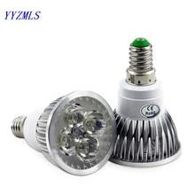Высокой мощности CREE E14 gu10 9 Вт, 12 Вт, 15 Вт, 220V 230V 110V затемнения Светодиодный точечный светильник Точечный светильник светодиодный светильник с вниз светильник ing