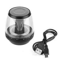 LED portátil Altavoces Bluetooth Inalámbricos con Manos Libres con TF USB FM Micrófono Blutooth Estéreo de Música para el iphone para el Teléfono Móvil