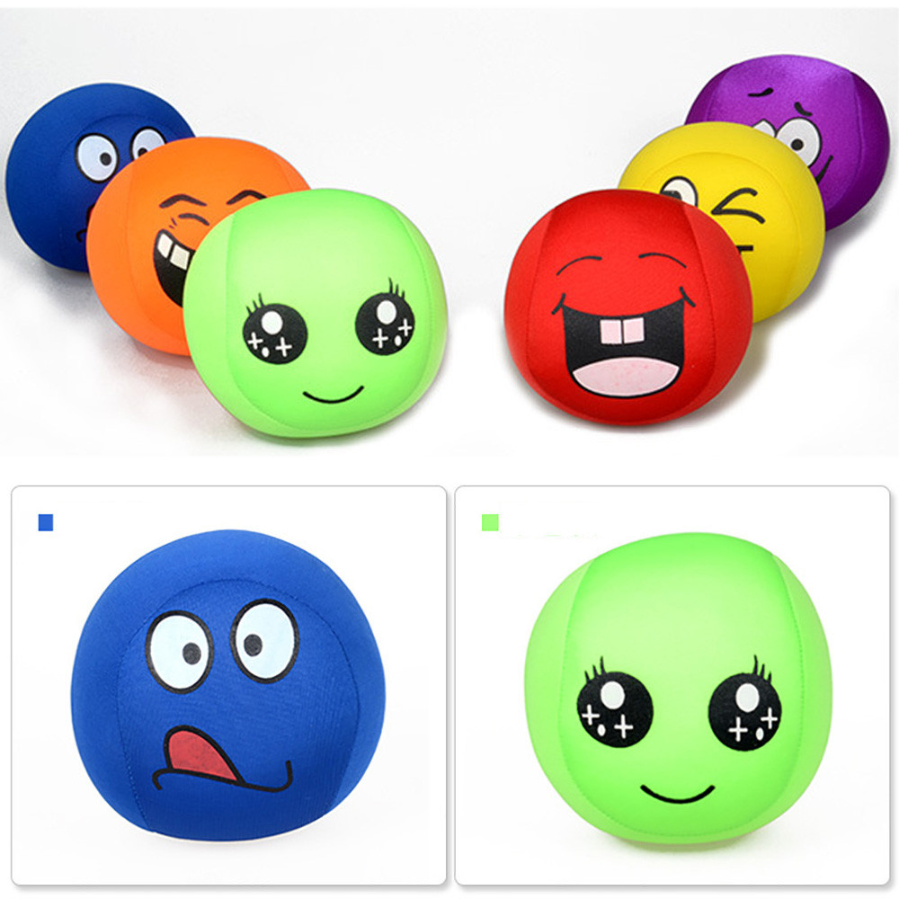 Super Stretchy Stress Ball Smile All kids toy Stress Reliever Children expressions Face Squeeze handball toy Gift saint valentin