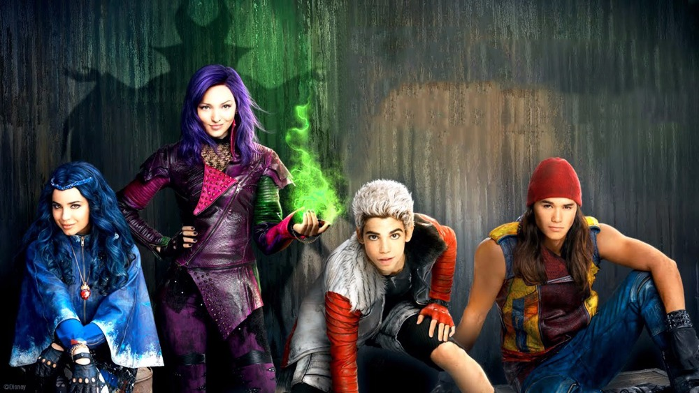 disney's descendants characters - 1280×720