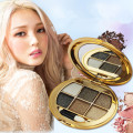 6 color makeup pallete diamond shining pearl eye shadow the earth sootiness makeup pallets naked makeup super shiny