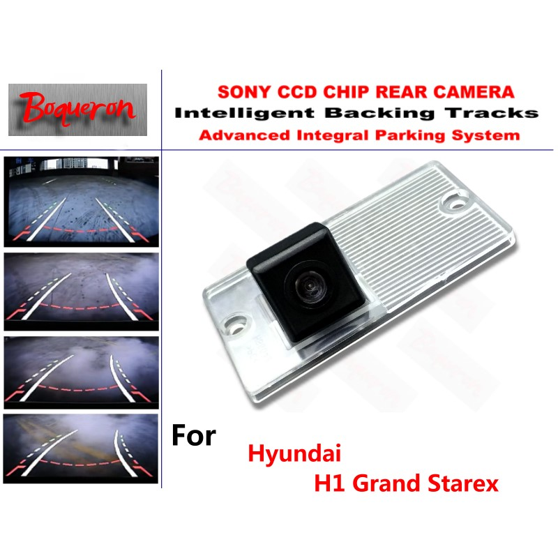 for Hyundai H1 Grand Starex CCD Car Backup Parking Camera Intelligent Tracks Dynamic Guidance Rear View Camera for toyota 4runner fortuner sw4 2005 2012 ccd car backup parking camera intelligent tracks dynamic guidance rear view camera