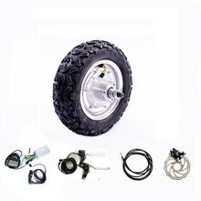 10 inch 48v 800w Scooter kit 36v 24v 350w 500w Electric Bicycle E bike Accessories Buggy Conversion