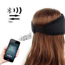 JINSERTA Wireless Bluetooth Earphone Sleep Mask Phone Headband Sleep Soft Headphone Headset For Listenting Music Answering Phone