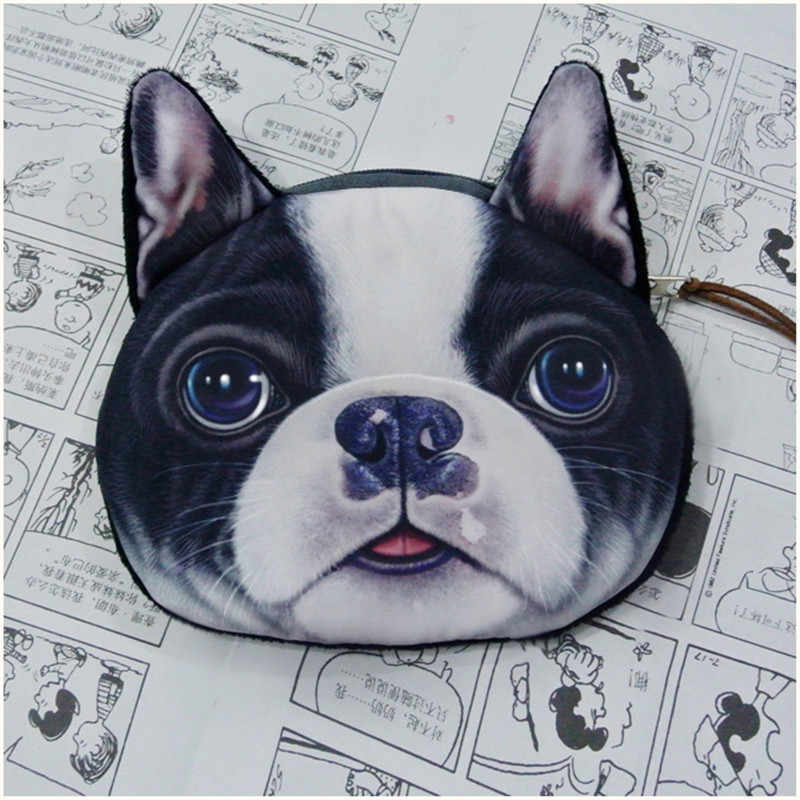 Monederos para Mujer monedero para Monedas cartera para niños carteras para niños perros moda pequeña bolsa Mujer Monedas Carteira