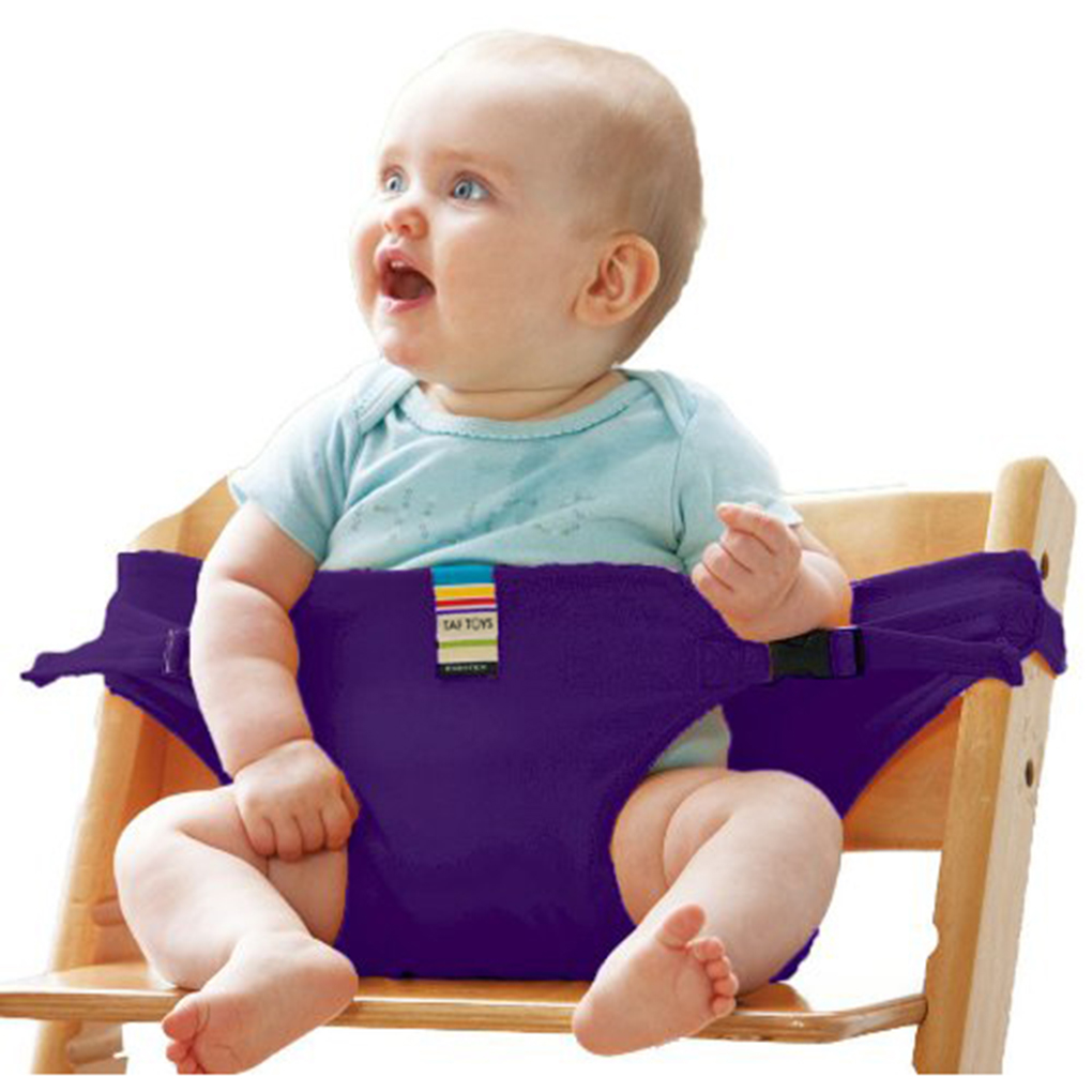 Infant Chair Seat Safety Belt  Baby Portable Feeding Seat Belt Baby High Chair Safety Belt Trolley Strap Cover