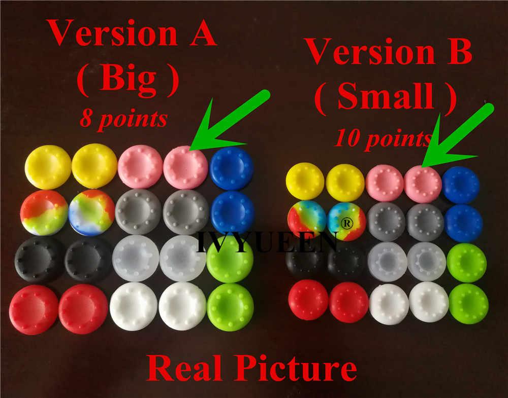 20 шт. силиконовые аналоговый джойстик для палочек для Игровые приставки 4 PS4 Pro Slim для Xbox One Elite X S аналоговые стики для джойстика шапки