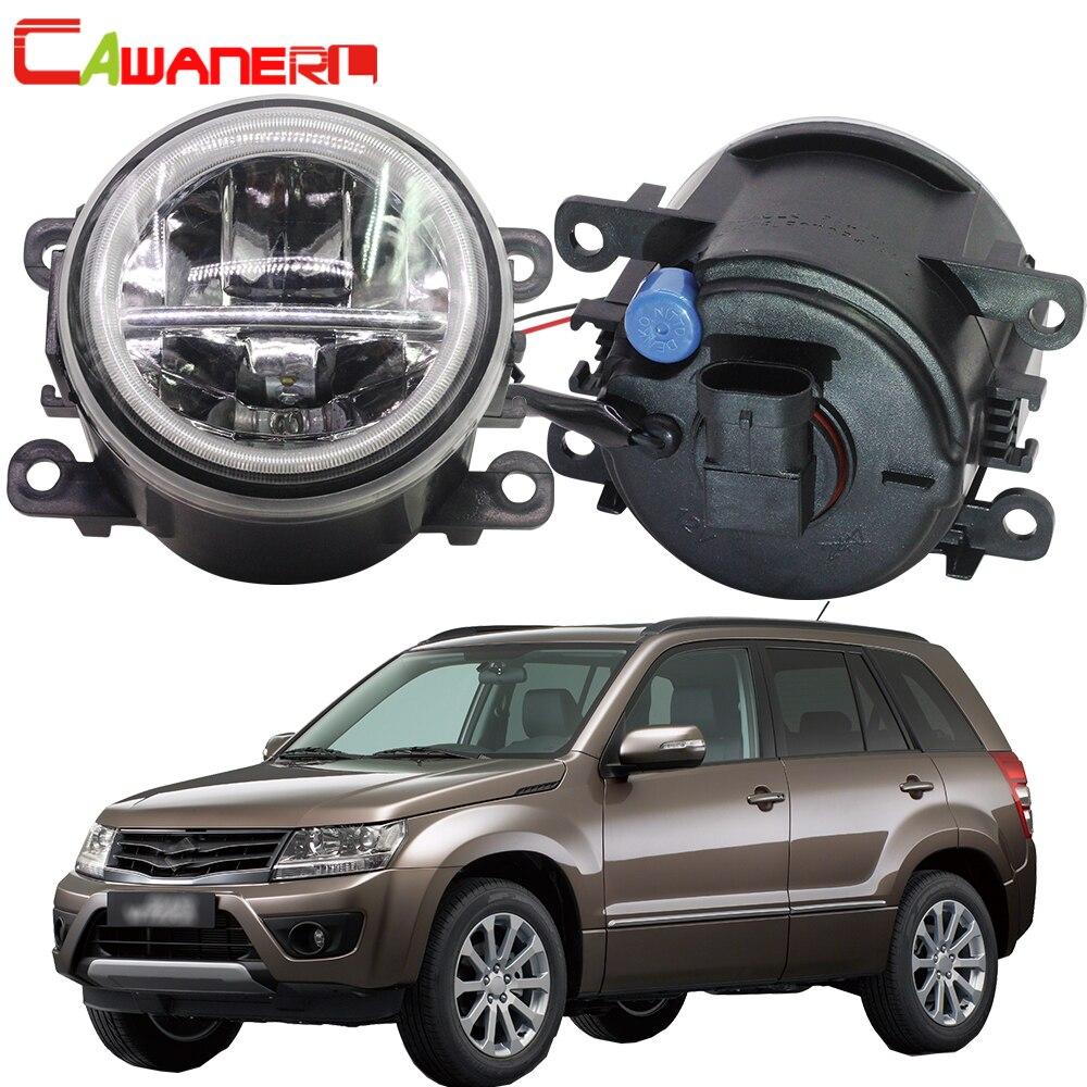 Cawanerl For Suzuki Grand Vitara 2 II JT 2005 2015 Car 4000LM LED Bulb H11 Fog