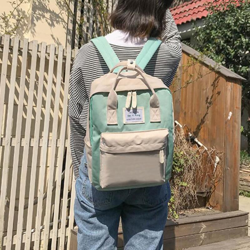 HTB1UrzDBZyYBuNkSnfoq6AWgVXaD Yogodlns Campus Women Backpack School Bag for Teenagers College Canvas Female Bagpack 15inch Laptop Back Packs Bolsas Mochila