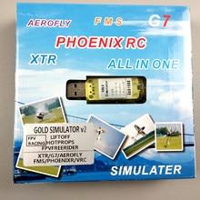 Улучшенное Качество 22 в 1 симулятор 22 в 1 USB RC симулятор для поддержки Realflight G7.5 G7