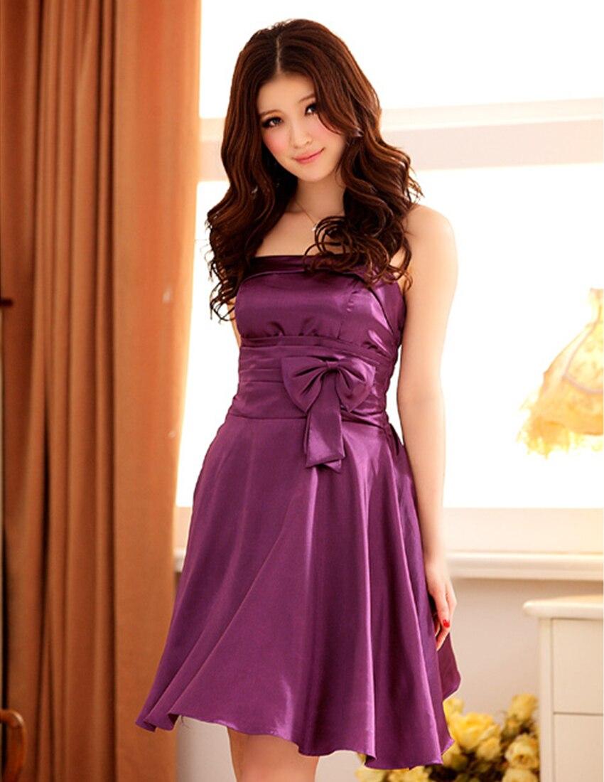 с плеча атласная женщин выпускные homecoming платье a-line лето короткое платье халат де вечер эластичный пояс плюс размер