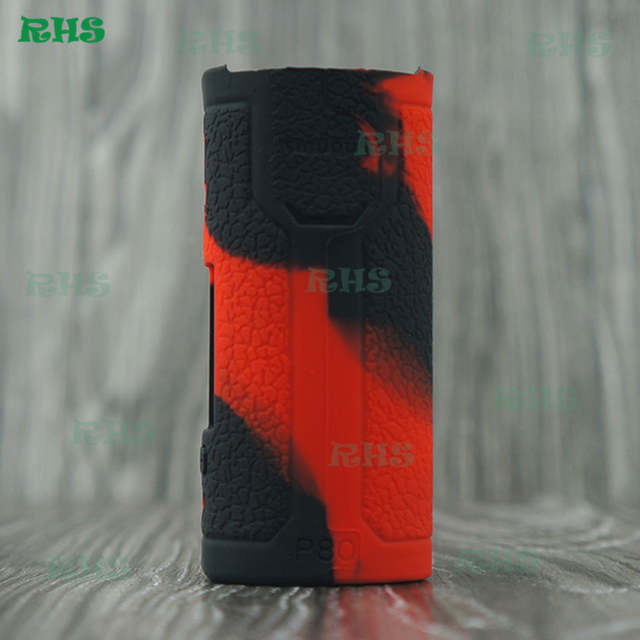 US $11 99 |2pcs New Arrival AliExpress Silicone Case Cover for RTA Tank E  Cig Kit Wismec SINUOUS P80 With Elabo Mini TC Kit free shipping-in Storage