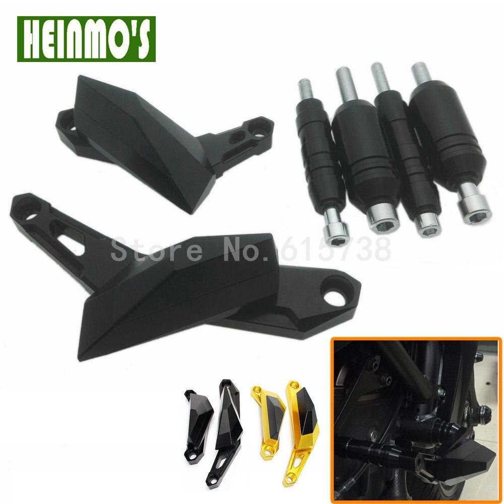 For Yamaha MT-07 MT07 2013 2014 2015 Motorcycle CNC Aluminum Frame Slider Anti Crash Protector high quality