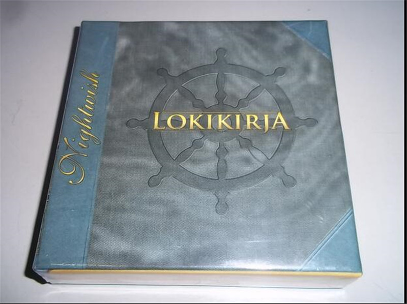 Free Shipping: Night NIGHTWISH LOKIKIRJA 8CD sealed nightwish endless forms most beautiful 2 cd