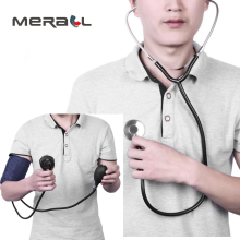 Stethoscope Blood Pressure Monitor Manual Arm Sphygmomanometer Measuring Blood Pressure meter medical equipment health care недорого
