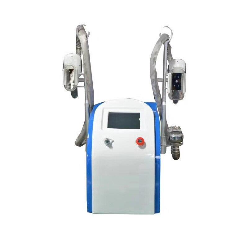 Cryolipolysis de machine de congélation de double tête de bureau pour la machine de amincissement de corps