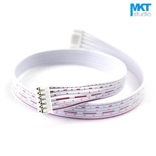 100 шт. 30 см 6 P Провода кабель Линия с двойными рН 2.0 мм разъем Булавки заголовок
