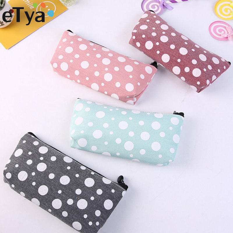 ETya Cactus Cosmetic Bag Women Travel Makeup Bag Make Up Beauty Toiletry Organizer Storage Pouch Multifunction Pencil Case