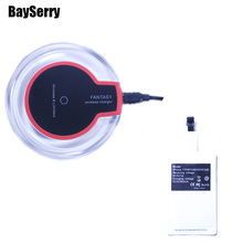 Type-C Qi Wireless Charger For iPhone X 8 Plus  USB Charge Samsung Galaxy S8 S9 A8 Plus S6 S7 Edge Note 8 Wireless Receiver kit стоимость