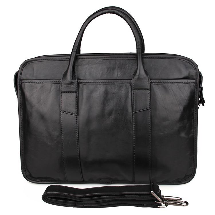 Laptop 100 Jmd Tasche Kuh Leder Herren Echte Black Aktentasche Handtasche 7321 Garantieren Yrdx0qd