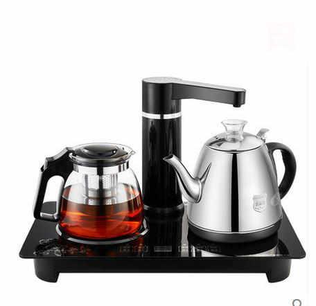 Automatique eau bouilloire électrique 304 d'isolation en verre tasse de thé Sécurité Fonction D'arrêt Automatique