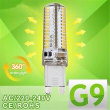 9 Вт, 12 Вт, 15 Вт, G9 светодиодный 3014 48 64 96 Светодиодный S 220V 240V g 9 Точечный светильник светодиодный светильник вниз светильник светодиодный лампы теплый/холодный белый