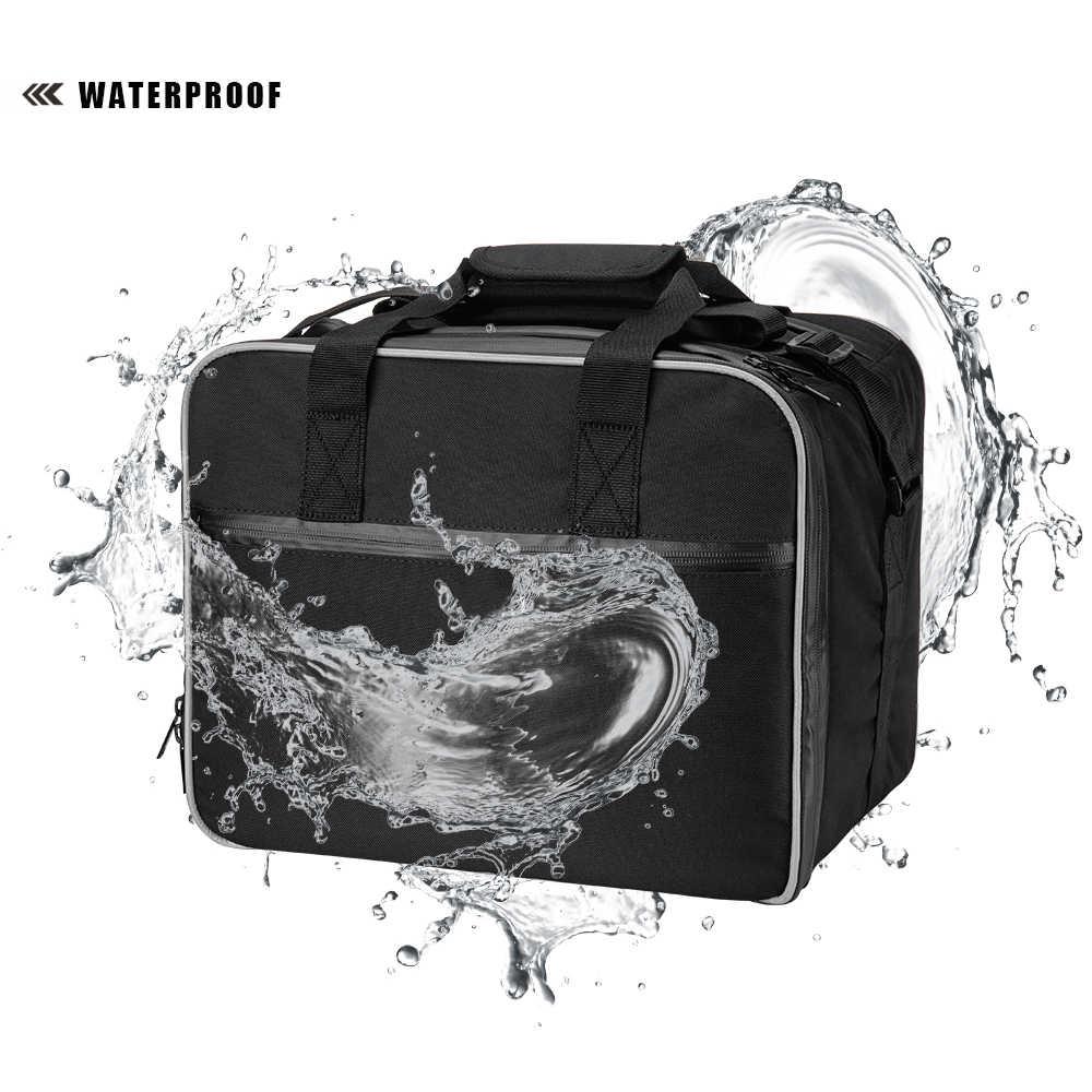 KEMiMOTO Saco Motocicleta Sela Sacos sacos da bagagem do PVC Interior Para BMW r1200 gs Adv WATER-COOLED R1200GS F800GS Aventura 2013-2017