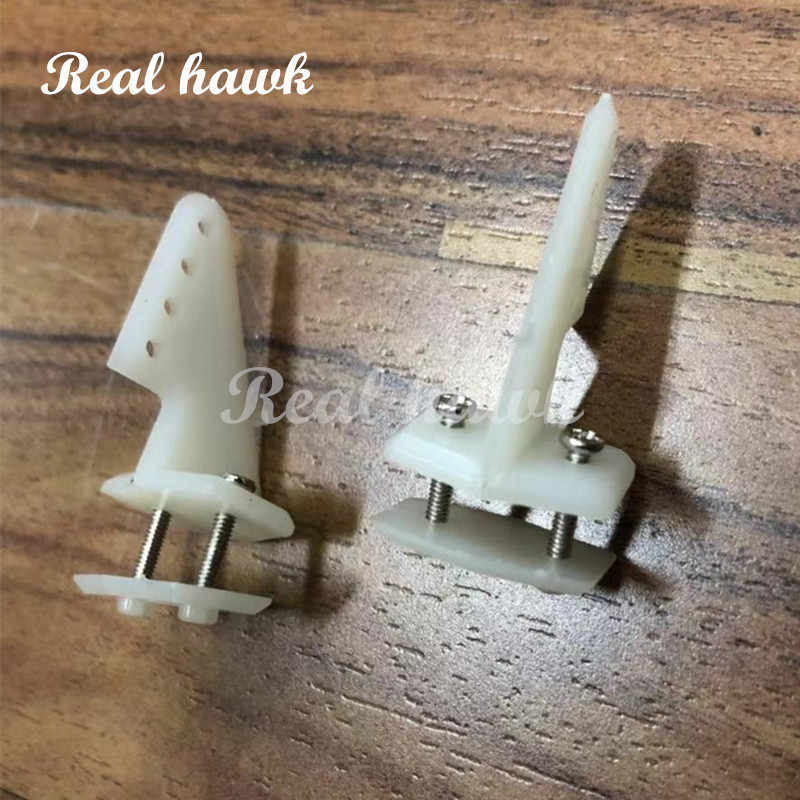 10 Sets/lot With Screws Pin Horns 18x26 4hole L18xW13xH26 RC Airplanes Parts Electric Planes Foam Aeromodelling free shipping