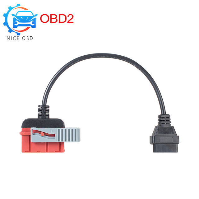 High Quality Lexia3 30 pin cable to OBD2 16 pin cable lexia3 PP2000 Interface with Old for Peugeot for Citroen Cars obd Lexia 3