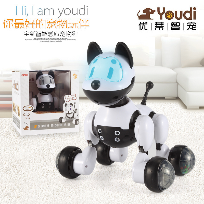Robot Dog Toy Electronic Dog Toys For Kids Voice Control Toy
