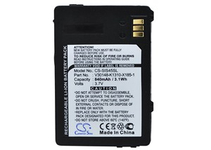 Cameron Sino 840mAh Battery for Siemens S45i ,3618, 6618 etc.