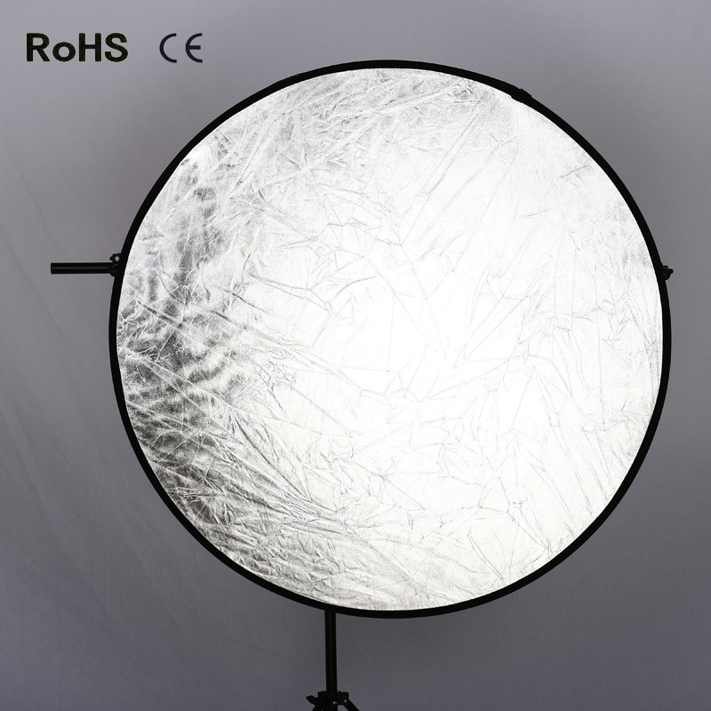 43 110cm 2-in-1 Photo Photography Light Mulit Disc Collapsible Reflector for Photo Studio