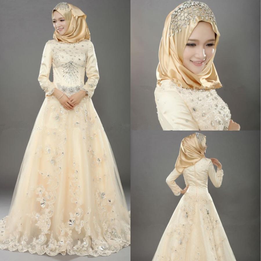 Fashion 2017 berhijab - Online Kaufen Gro 223 Handel Indische Muslimische Hochzeit Aus