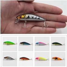1Pcs Fishing Minnow Spinner Lure 8.5cm/7.7g Laser 3D Eyes Hard Baits 6#Hooks For Wobblers Pike Winter Sea Fishing Decoy Tools