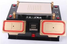 3in1 вакуумный ЖК Сепаратор/предварительного/рамка Ближний сепаратор для iPhone Samsung сенсорный экран обновляют ремонт машины