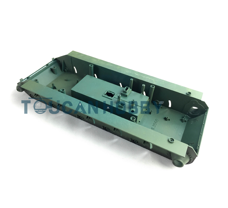 HengLong 1/16 Scale Russin T-34 RC Tank Model 3909 Plastic Chassis henglong 1 16 soviet t 34 rc tank metal track sprockets airsoft sound smoke 3909