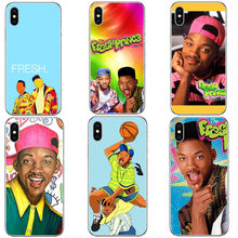 Will Smith Segar Pangeran Hard Coque Ponsel Case Menutupi UNTUK iPhone 5 5 S 6 6 S Plus 7 xr X MAX 8 8 PLUS X 10(China)