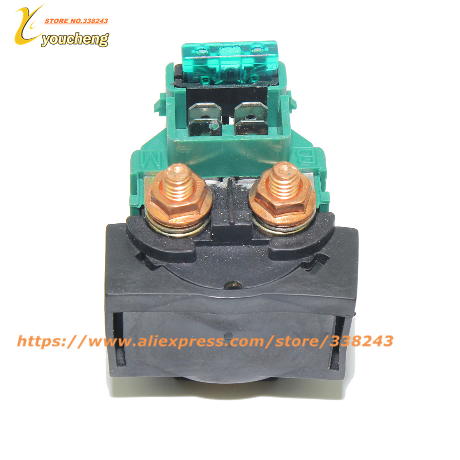 CFMOTO Starter Relay CF188 Relay Starter 500 CF500 500CC UTV ATV GO KART Wholesale Spare Parts 9010-150310-1000 JDQ-CF500 signal light suit for cfmoto cf500 atv spare parts of cfmotorcycle parts number is 9020 160230 9020 160210