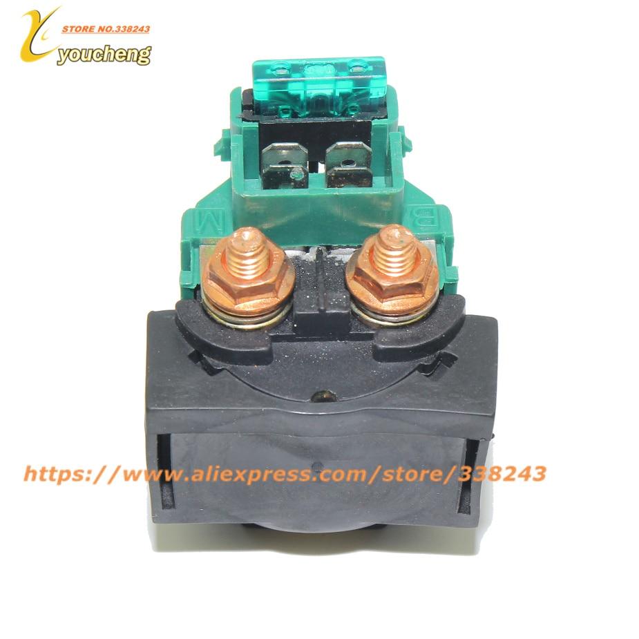 CFMOTO Starter Relay CF188 Relay Starter 500 CF500 500CC UTV ATV GO KART Wholesale Spare Parts 9010-150310-1000 JDQ-CF500 brake caliper brake shoe parking clamp of cfmoto cf500 parts number is 9010 080320